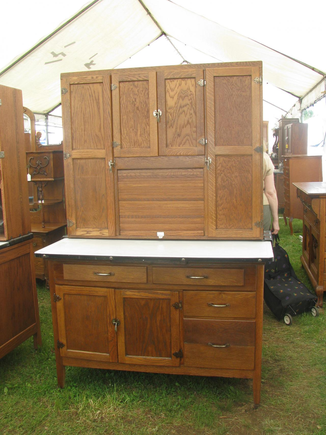 ... Sellers Hoosier Cabinet ... - Z's Antiques & Restorations - Hoosier/Baker's Cabinets Including Yet