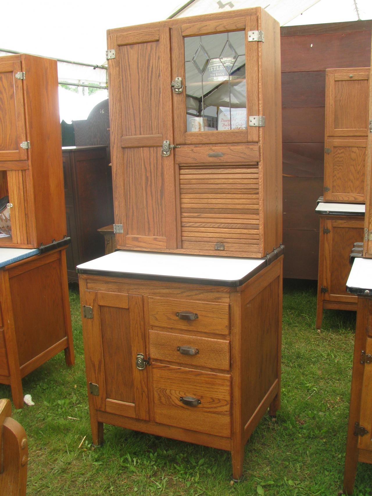 Marvelous ... Daughter Size Sellers Cabinet, Just Received, Two In Stock, $2595.00@;  Sellers Hoosier Cabinet ...